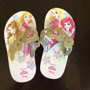 NEW Girls Stride Rite Disney Princess Sandals 8 9